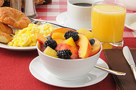 Continental Breakfast at Houston Galleria Hotel