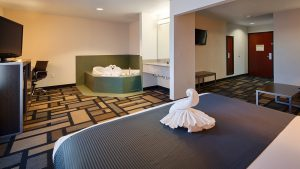 Hotel near Houston Galleria with Jacuzzi Suite