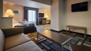 King Hotel Deluxe Suite at Houston Galleria